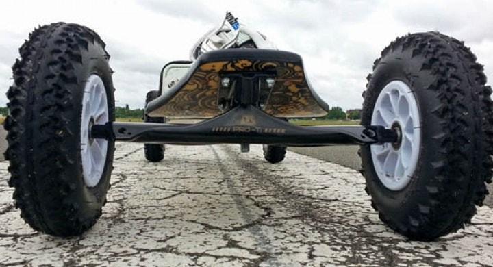 MBS Pro 90 mit Skatetrucks