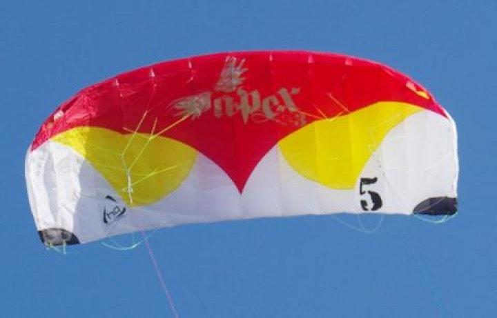 HQ Apex3 in der Luft Depowerkite
