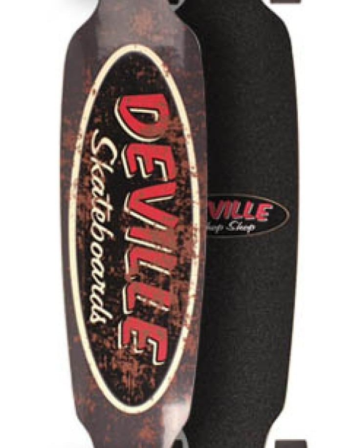 "Deville Rat Rod 42"" Longoboard Shopansicht"