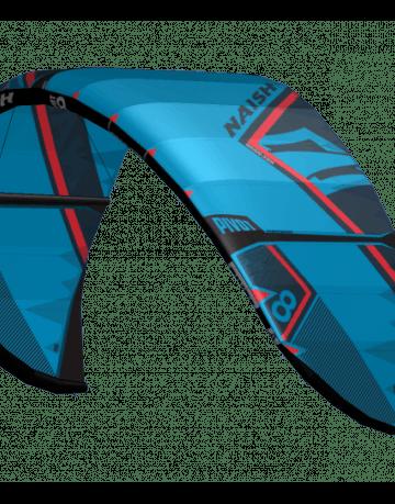 Naish Pivot 2018 Kite in blau von der Seite