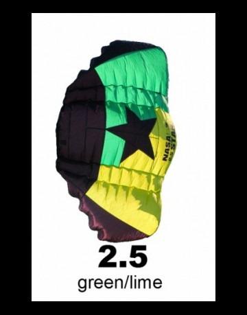 Nasa Star 4 in 2,5m² von Born Kite zum Streetkiten