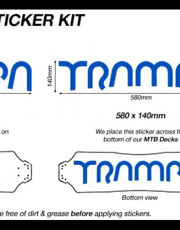 Trampa Sticker Kit for Decks