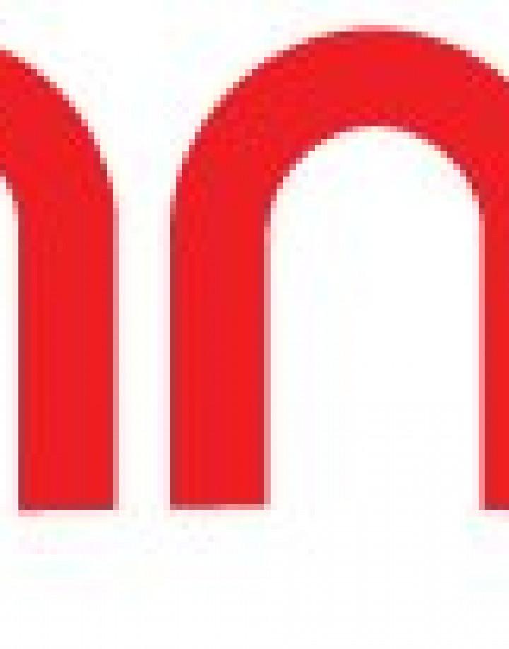 Trampa Logo Sticker für unter das Mountainboard in Rot
